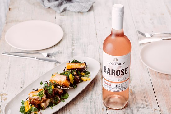 Rowland Flat, Australia: #Enjoy our Pork Belly dish served with our new exclusive wine Barosé!