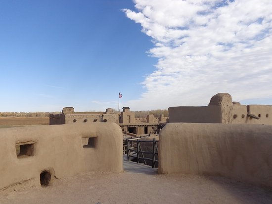 La Junta, CO: Well built fort