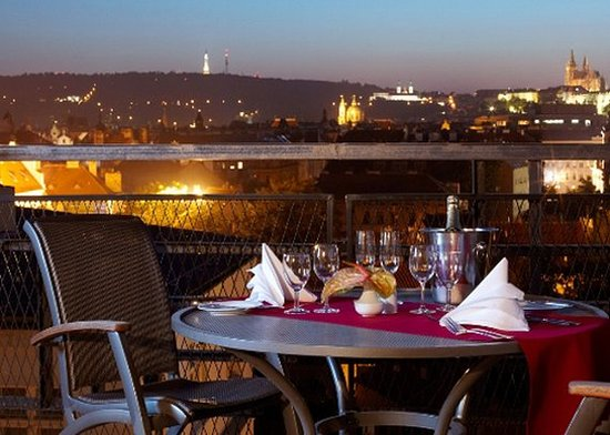 Clarion Hotel Prague Old Town: CSPatio