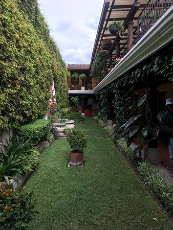Hotel Meson del Valle: Courtyard