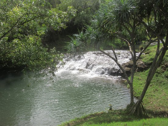 Kilauea, Hawaje: Silver Falls Ranch - The Falls