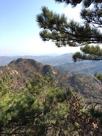 Anshan, China: south slope