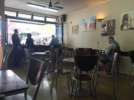 Coffee Plus cafe: Cafe interior