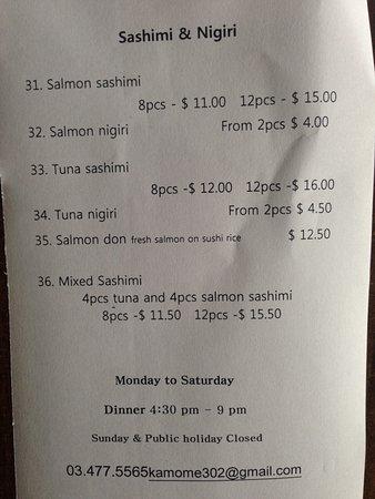 Japanese Restaurant Roslyn Dunedin