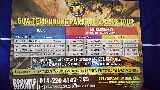 Gua Tempurung: Gua Tempurung Park Showcave Tour