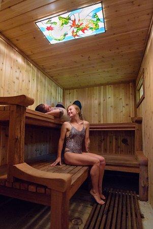 نيكلسون هاوس إن: A view of our traditional sauna