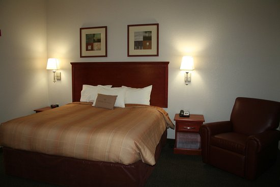 Avondale, LA: King bed studio suite - relax in style and comfort.