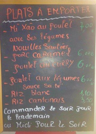 Plougastel Daoulas, Francja: Tout nouveau, une adresse avec plats  asiatiques authentiques. J'ai goûté un sandwich et j'ai pr