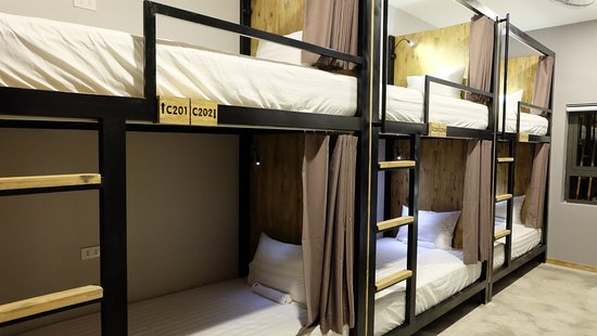 Dormitory Bunk Bed Picture Of 9 Station Hostel Bar Phu Quoc