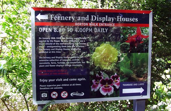 New Plymouth, New Zealand: Fernery Info