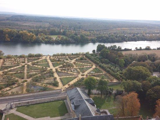 Chateau de La Roche-Guyon : Magnifique visite de ce château avec une vue imprenable !!