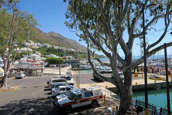Gordon's Bay, South Africa: Havnen ved The Thirsty Oyster