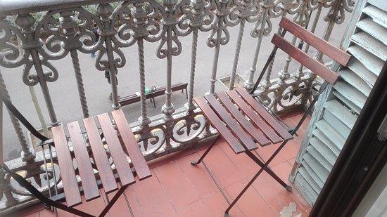 Hostalin Barcelona Gran Via: Notre terrasse