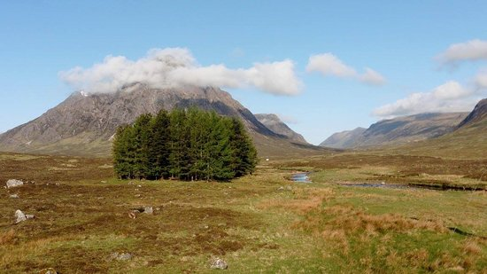 Kings House Hotel: Buchaille Etive Mor from the room