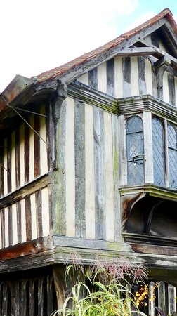 Northiam, UK: Tudor part of the house