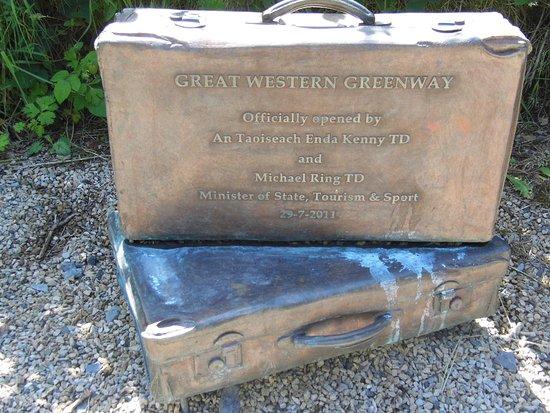 The Great Western Greenway: Lembranças do passado