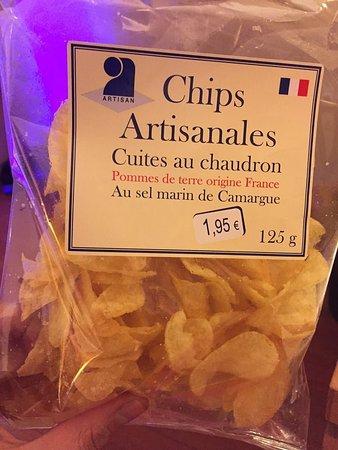 Auchan supermarket homemade crisps  - Picture of Val d