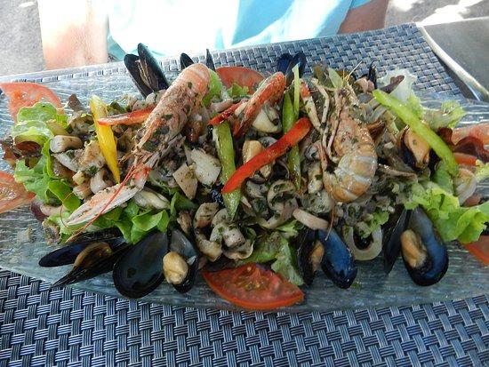 Sisco, France : Salade de la mer