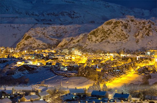 Blaenau Ffestiniog, UK: Our town in winter, a great time to visit.