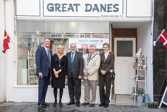 Frinton-On-Sea, UK: Danish Ambassador Visit