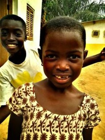 Busua, Ghana: Happyness on the village