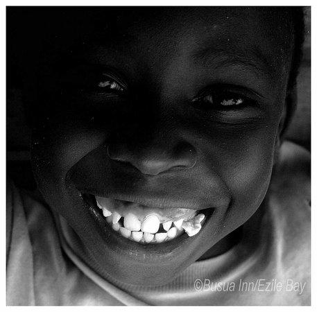 Busua, Gana: A lovely boy