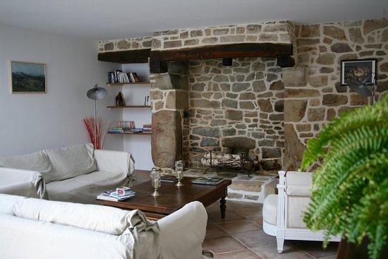 salon de d tente photo de les chambres du manoir de kerhel locoal mendon tripadvisor. Black Bedroom Furniture Sets. Home Design Ideas