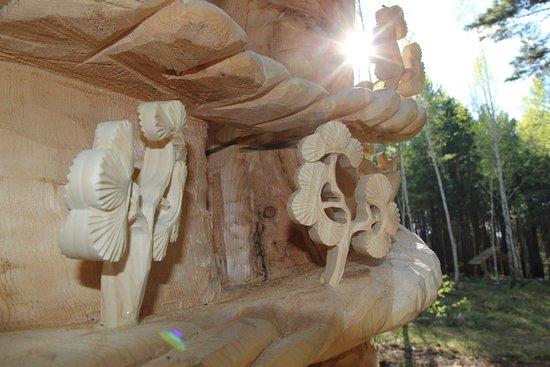 Park Lukomorye: очень красиво и пахнет свежей древесиной. и виды обалденные