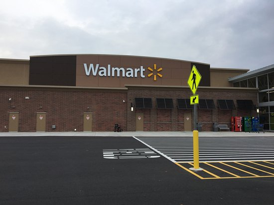 Bay Towne Plaza Shopping Center: Bay Towne Plaza - view of new WalMart store