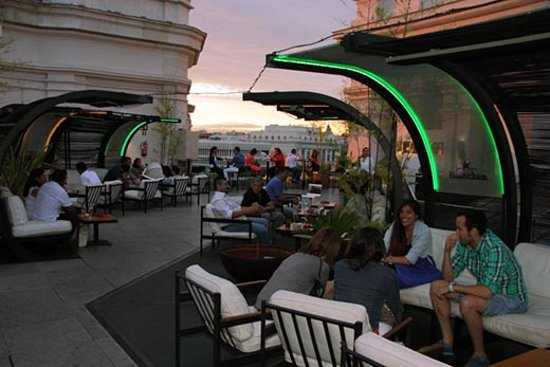 Rooftop Bar Review Of Terraza Cibeles Cocktail Bar