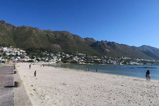 Gordon's Bay, Güney Afrika: Dejlig strand ved Old Cape Café