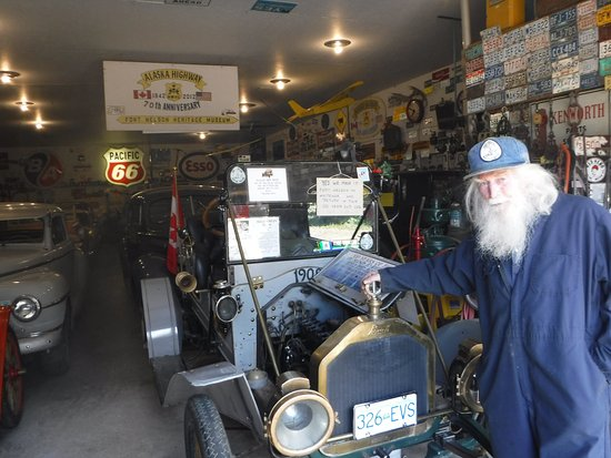 Fort Nelson Heritage Museum: talked to owner of the museum.,. was interesting to find out he collected the majority himself