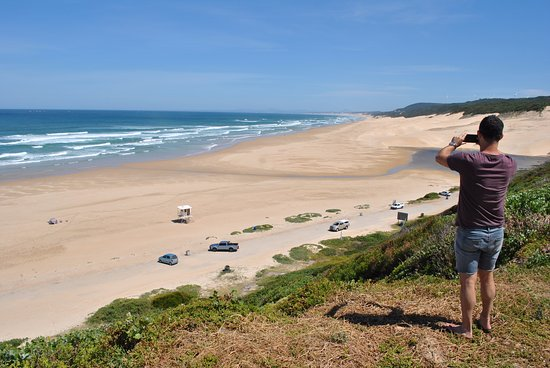 Beachview, South Africa: dunes, 2 min drive from murphys