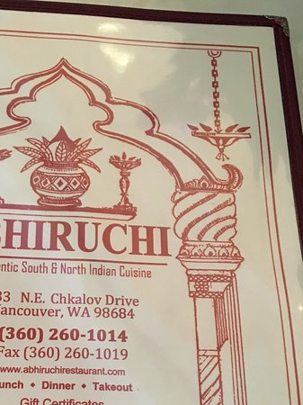 Vancouver, WA: Great menu selection