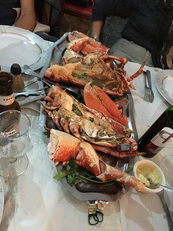 L'Araignee Gourmande : Joli homard grillé