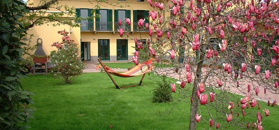 GiEt Bed and Breakfast: Il giardino