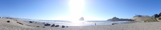 Pacific City, OR: panoramic shot