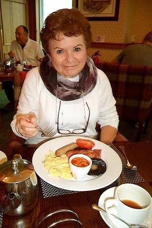 Carnoustie, UK: Great breakfasts
