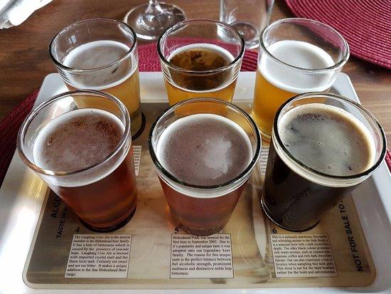 Walkerbay Estate and Birkenhead Brewery: Craft Beer tasting tray