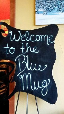 Blue Mug The Coffee Bar The