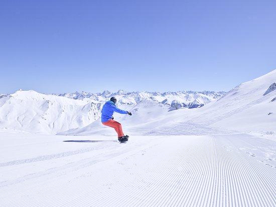 Oostenrijk: Snowboarder in Serfaus; Österreich Werbung, Peter Podpera