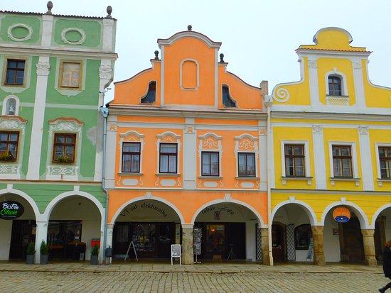 Telc facades