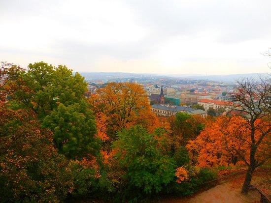 Brno view from Spilberk