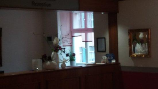 Hotel Blauer Hecht: Rezeption