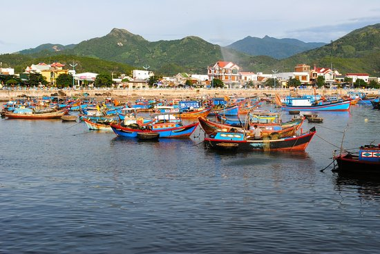 An Lam Ninh Van Bay Villas: A photo from the fish market tour