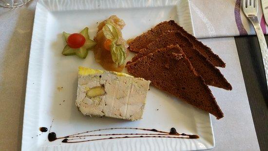 Villebon-sur-Yvette, France: Foie gras