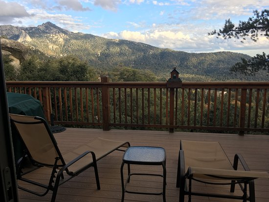 Idyllwild, CA: View from the deck