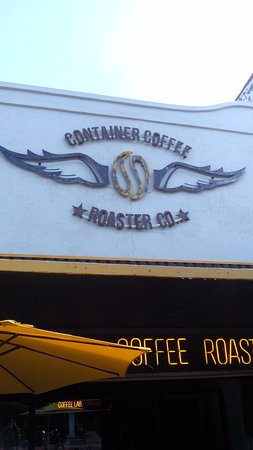 Container Coffee Roaster Cafe
