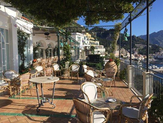 Santa Caterina Hotel: Terrazza Panoramica