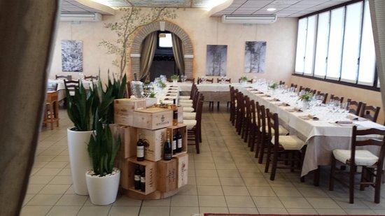 Campodarsego, إيطاليا: visuale sala ristorante